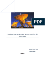 CMC Instrumentos de Observación Del Universo