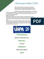 matematica basica tarea 2.doc