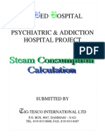 Steam Calculation Submittal - Option 2 (900 Bed)