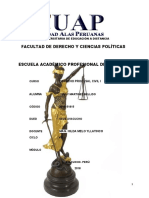 Derecho Procesal Civil I-modulo I- 2018-Cod. 2015151815