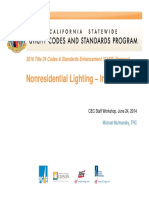 Nonresidential Lighting-Indoor LPD
