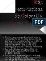 Las Caracteristicas de Colombia
