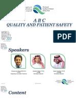 ABC Quality and Patient Saftey Workshop Final