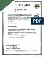 CERTIFICADO ORGÁNICO USDA 2018 spanish.pdf