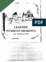 Adamczewski J. - Legendy Starego Krakowa