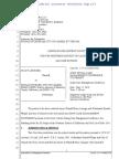Lininger Document 52 05-15-18