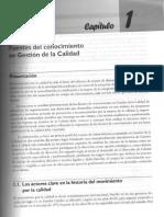 Cap 1 Fuentes Del Conoc en Gest Calidad - Cesar Camison