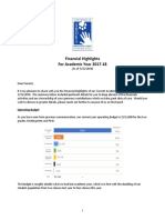 financial highlights 20180331