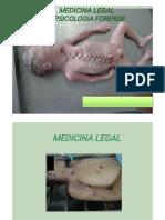 Medicina Legal e Psicologia Forense