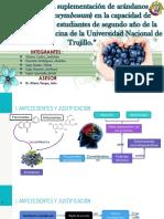 Efecto de la suplementación de arándanos en la capacidad de memoria de los estudiantes de segundo año de la Facultad de Medicina de la Universidad Nacional de Trujillo