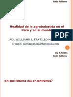 CLASE 1 - Realidad de La Agroindustria en El Peru y en El Mundo