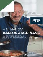 A Mi Manera, KARLOS ARGUIÑANO, Cocina Regional Española.pdf
