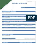 FUT FormularioUnicoDeTramite