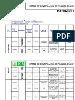 Matriz de IPERC Para Transporte de Carga y Pasajeros