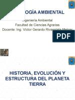 Historia y Evolucion de La Tierra-geologia Amb.