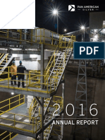 Pan American Silver Annual Report 2016