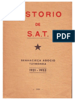 Historio de Sat 1921-1952