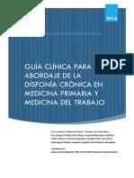GuiaClinicaparaelabordajedeladisfonacrnicaenmedicinaprimariaymedicinadeltrabajo