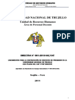 Unt Directiva n 001-2018-Vac Unt