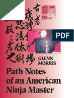 Path Notes of an American Ninja Master - Glenn J. Morris - Nook Version