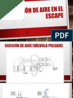 Inyección de Aire en El Escape