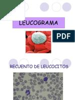 Leucograma - Hemostasia