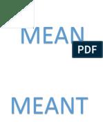 Verbs English
