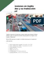 203 Expresiones en Inglés Coloquiales y Su Traducción Al Español