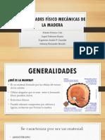 Propiedades Físico Mecánicas de La Madera Completo