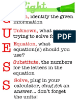 Physics Prob Solv Poster