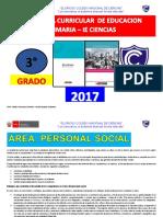 Programa Curricular de Primaria 3 Grado Fred