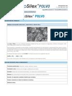 3 Marcado CE Ensayos y Certificados Ficha CE GeoSilex POLVO 13-02-13