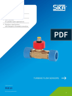 SIKA-DS Turbine Flow Sensors