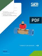 SIKA-DS Turbine Flow Sensors