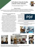 Química de Productos Naturales Inedin.extracción de Aceites Naturales