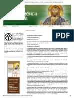 Ateismo. La Respuesta de La Iglesia Al Ateísmo. Por Pbro. Dr. Enrique Cases - ApologeticaCatolica.org