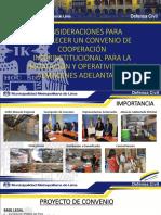 presentacion CONVENIO