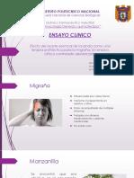 Ensayo Clinico Lavanda