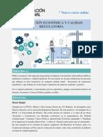 Brochure Curso Online Regulacion Racional