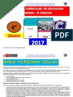 Programa Curricular de Primaria 4 Grado Fred