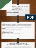 Revalorización Técnica De Activos Fijos Según NIC 4.pptx