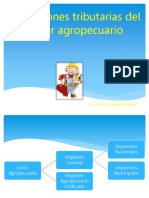 Obligacion Tributaria Del Sector Agropecuario