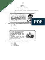 SPM BI PAPER 2