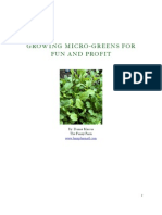 Growing Micro Greens