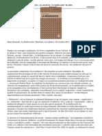 A Lire Un Extrait de La Mediocratie de Alain Deneault 2
