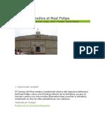 Visita de Estudios Al Real Felipe