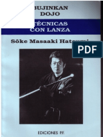 Ninjutsu - Bujinkan - Masaaki Hatsumi - Tecnicas Con Lanza