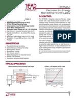 LTC3588-1 - Piezoelectric Energy Harvesting Power Supply