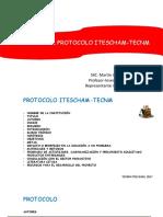Lineamientos Para Elaboración de Documentos Técnico-científicos.