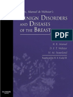 Robert E. Mansel MB BS MRCS LRCP FRCS MS, David Webster MD FRCS, Helen Sweetland MBChB MD FRCSEd Hughes, Mansel & Websters Benign Disorders and Diseases of the Breast 2009